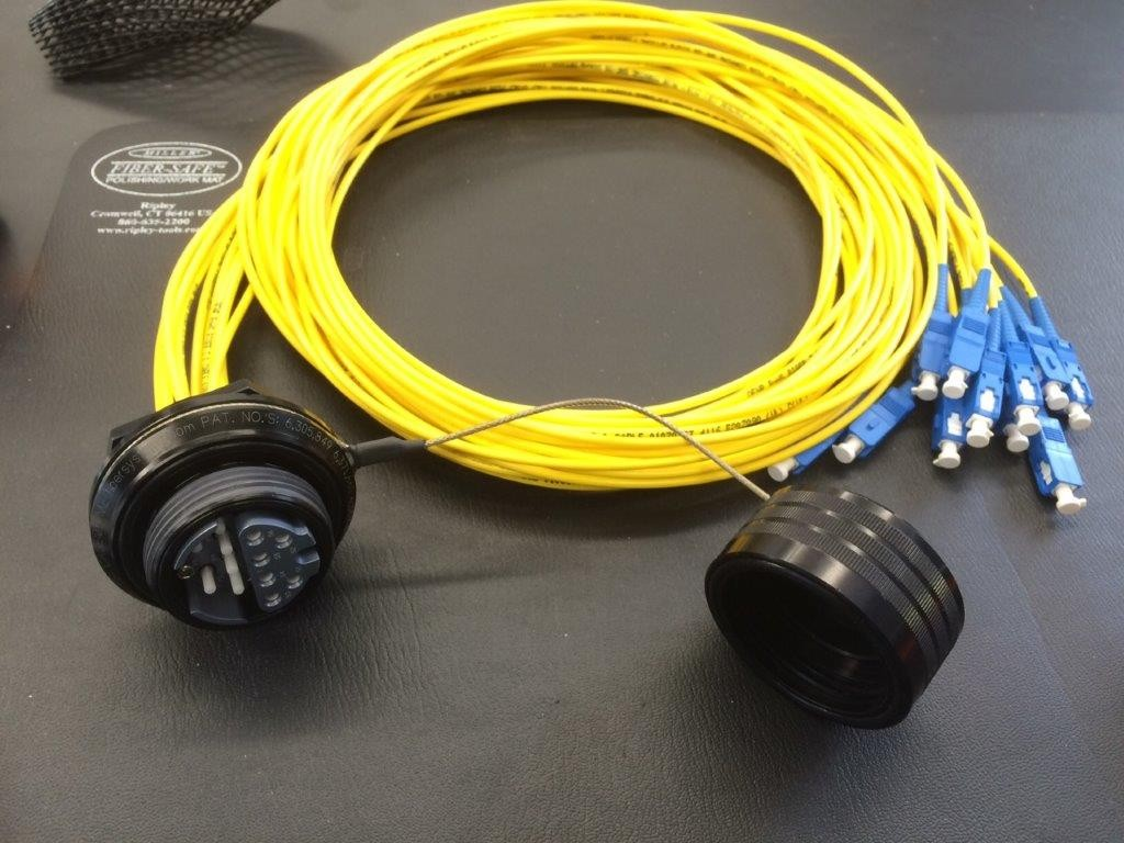 Hartline Supply - Yellow Fiber Cable (assembly)